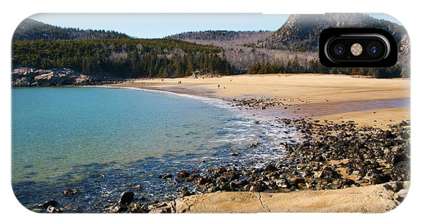 Sand Beach Acadia National Park IPhone Case