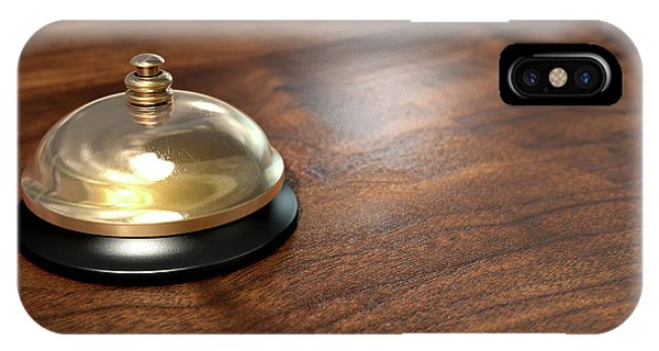 Service Bell Brass IPhone Case