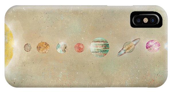 Solar System iPhone Case - Solar System by Bri Buckley