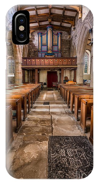 Organ iPhone Case - St. Marys Church by Adrian Evans