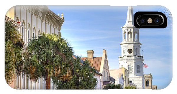 St Michaels Church Charleston Sc IPhone Case