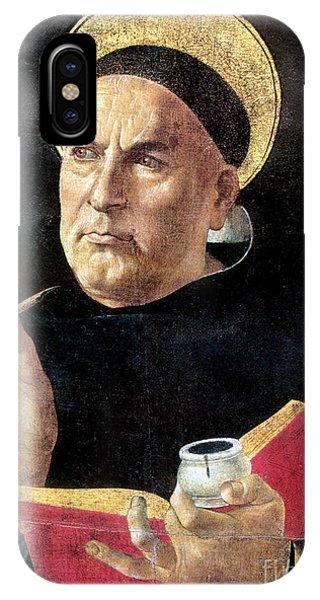 Botticelli iPhone Case - St. Thomas Aquinas by Granger