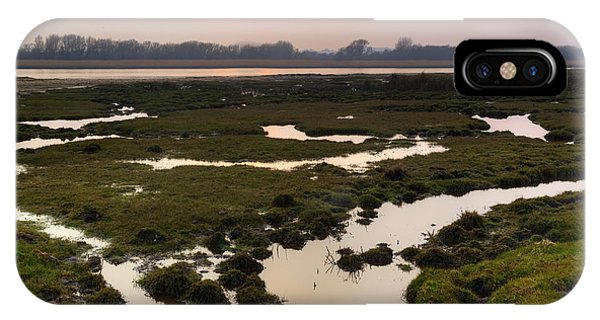 Bournemouth iPhone Case - Stanpit Marsh - England by Joana Kruse