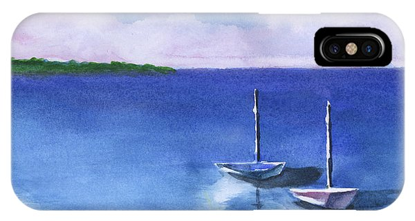 2 Still Boats IPhone Case