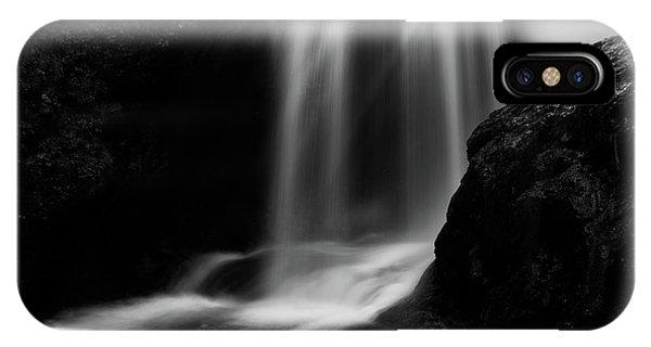 Sum Waterfall In Vintgar Gorge IPhone Case