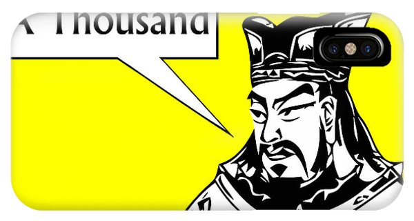 Leader iPhone Case - Sun Tzu by War Is Hell Store