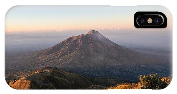 Sunrise Over Java In Indonesia IPhone Case