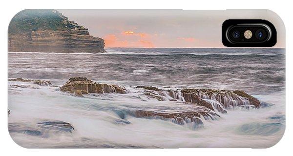 Sunrise Seascape And Headland IPhone Case