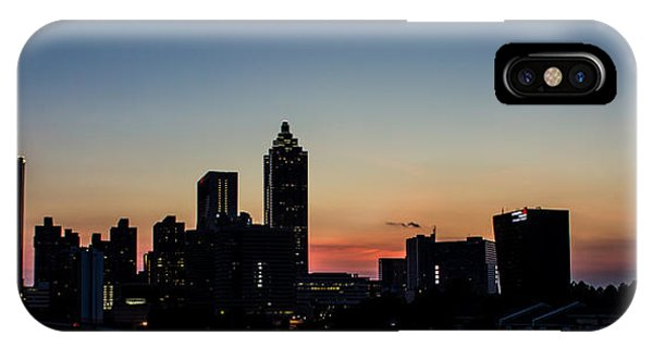 Sunset In Atlanta IPhone Case