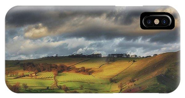 Bucolic iPhone Case - Sunset Light by Chris Fletcher