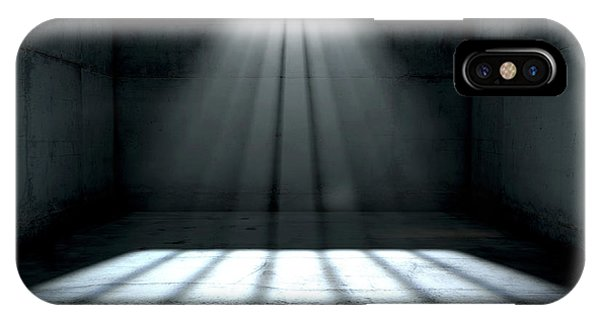 Beam iPhone Case - Sunshine Shining In Prison Cell Window by Allan Swart