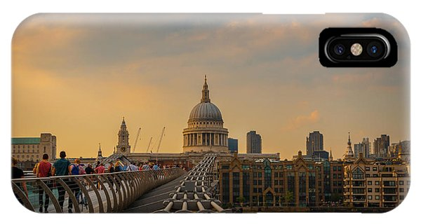 IPhone Case featuring the photograph Thames View by Stewart Marsden