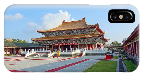 The Confucius Temple In Kaohsiung, Taiwan IPhone Case