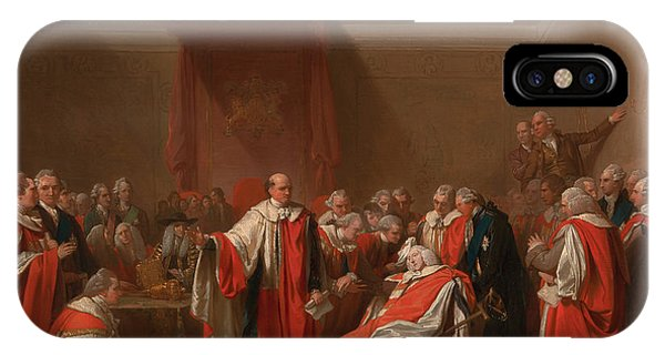 Chatham iPhone Case - The Death Of Chatham by Benjamin West