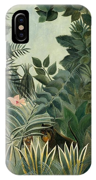 The Equatorial Jungle IPhone Case