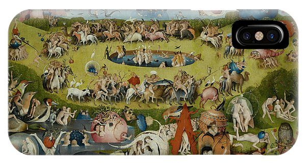 Lust iPhone Case - The Garden Of Earthly Delights by Hieronymus Bosch