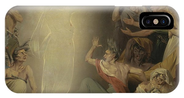 Awakening iPhone Case - The Ghost Of Clytemnestra Awakening The Furies by John Downman
