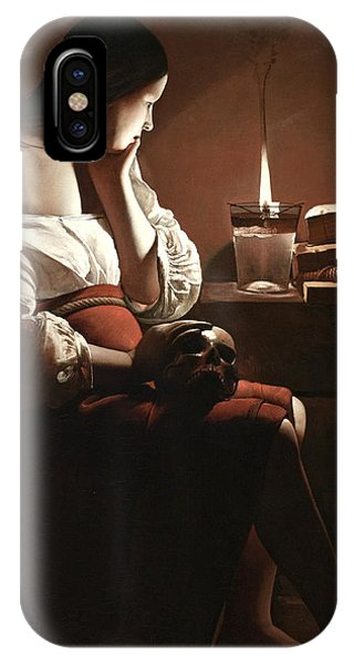 The Magdalen With The Smoking Flame IPhone Case