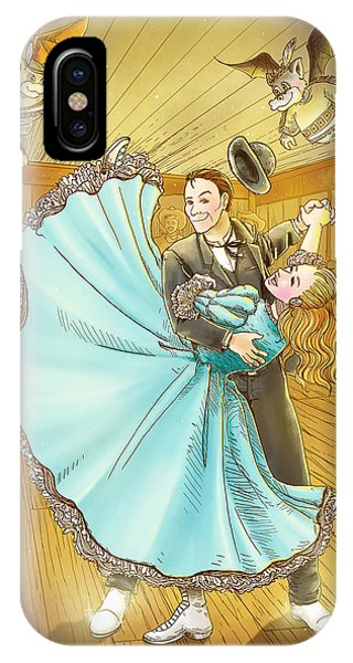 The Magic Dancing Shoes IPhone Case