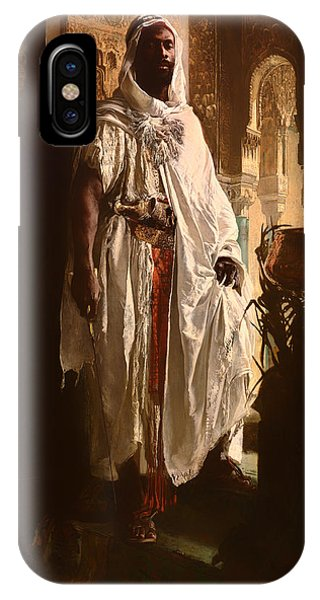 Columns iPhone Case - The Moorish Chief by Mountain Dreams