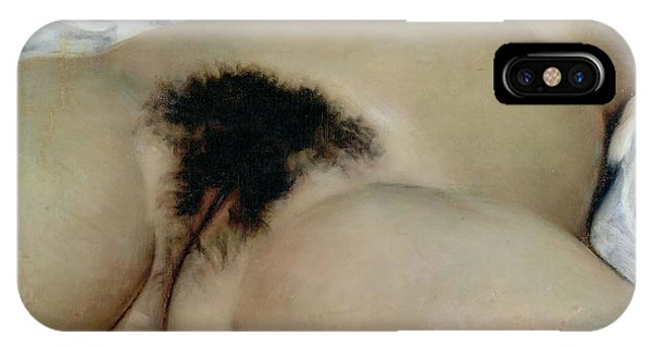 Lgbt iPhone Case - The Origin Of The World, 1866 by Gustave Courbet