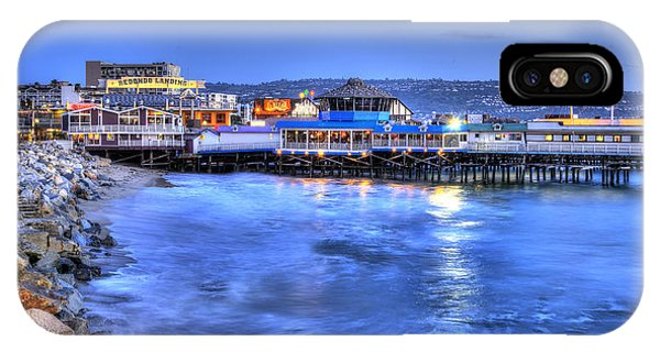 Redondo Landing At Night IPhone Case