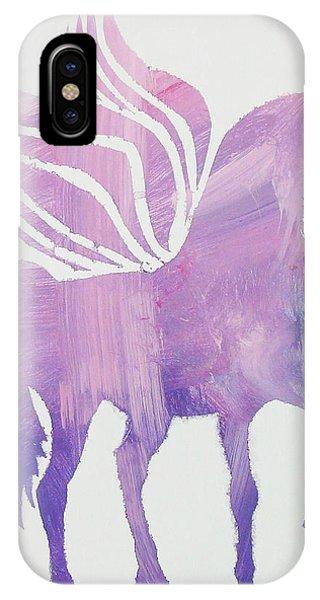 The Pink Pegasus IPhone Case