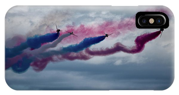 Airplanes iPhone Case - The Red Arrows by Smart Aviation
