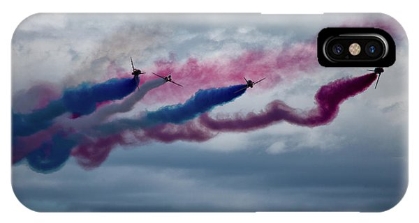 Airplane iPhone Case - The Red Arrows by Smart Aviation