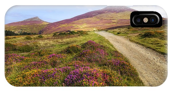 Heather iPhone Case - The Rivals - Wales by Joana Kruse