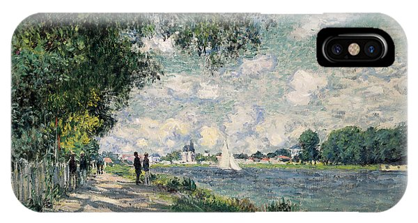 The Seine At Argenteuil IPhone Case