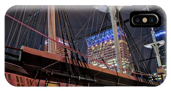IPhone Case featuring the photograph The Uss Constellation by Mark Dodd