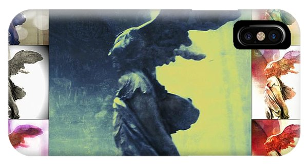 The Winged Victory - Paris - Louvre IPhone Case