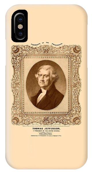 Thomas Jefferson IPhone Case