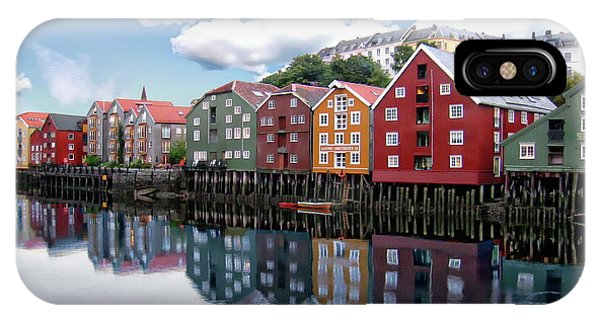 Trondheim Coastal View IPhone Case