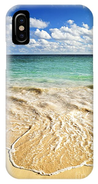 Inspirational iPhone Case - Tropical Beach  by Elena Elisseeva