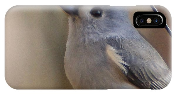 IPhone Case featuring the photograph Tufted Titmouse by Robert L Jackson