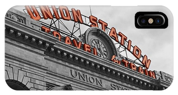 Union Station - Denver  IPhone Case