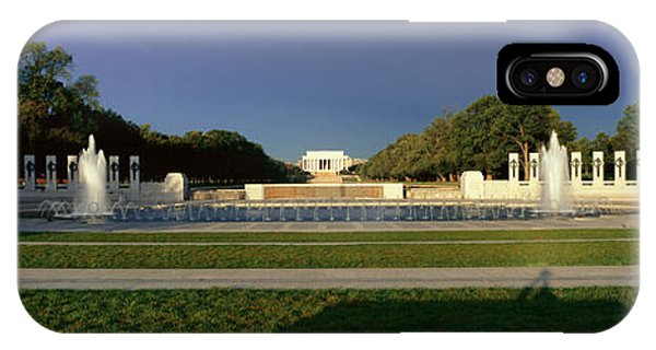 D.c. iPhone Case - U.s. World War II Memorial by Panoramic Images