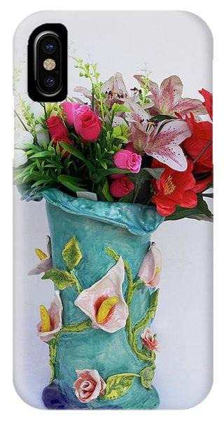 Vase, Rose Calla IPhone Case
