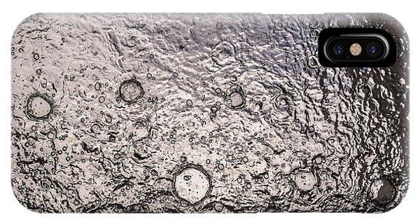 Water Abstraction - Liquid Metal IPhone Case