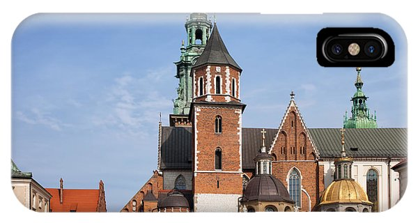Wawel Cathedral In Krakow IPhone Case