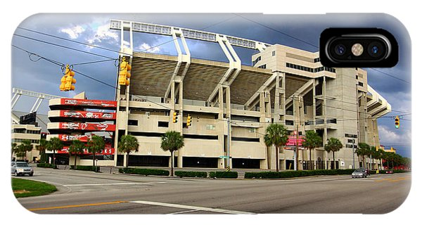 IPhone Case featuring the photograph Williams-brice Stadium 1 by Joseph C Hinson Photography