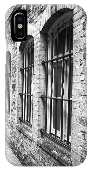 Dungeon iPhone Case - Window Bars by Tom Gowanlock