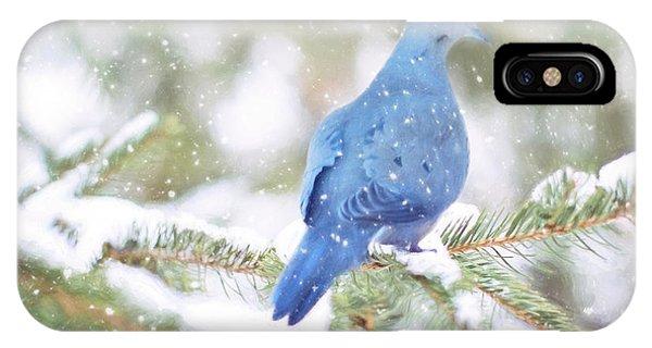 Winter Birds IPhone Case
