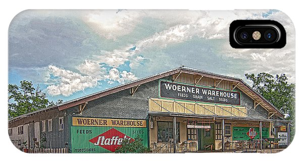 Woerner Warehouse IPhone Case