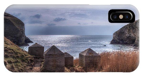 Swanage iPhone Case - Wolbarrow Bay - England by Joana Kruse