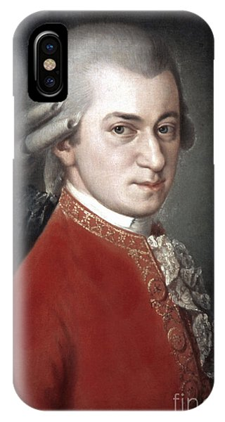 IPhone Case featuring the photograph Wolfgang Amadeus Mozart by Granger