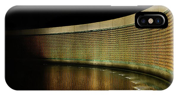 World War II Memorial - Stars IPhone Case