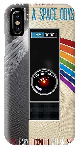 2001 A Space Odyssey Poster Print - No 9000 Computer Has Ever Made A Mistake IPhone Case